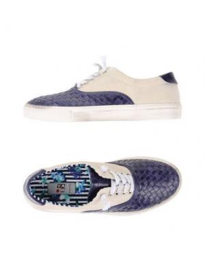 Низкие кеды и кроссовки YAB. Цвет: темно-фиолетовый