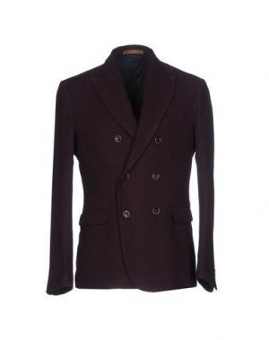 Пиджак JEY COLE MAN. Цвет: красно-коричневый