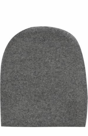 Кашемировая шапка Tegin. Цвет: темно-серый