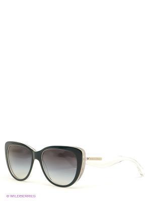 Очки солнцезащитные DOLCE & GABBANA. Цвет: лазурный, прозрачный