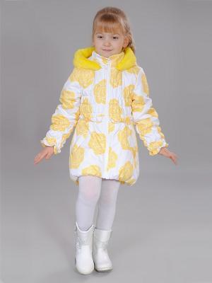 Пальто Fleur de Vie. Цвет: желтый
