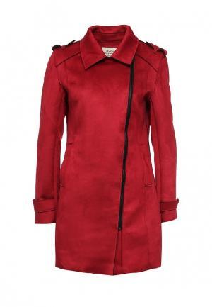 Пальто Softy. Цвет: красный