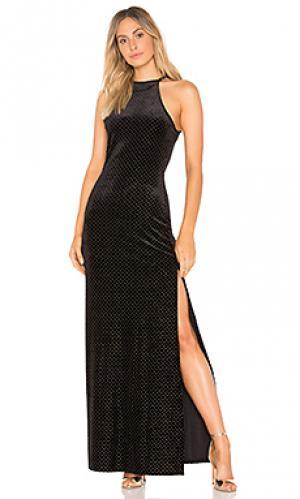 Макси платье crenshaw Privacy Please. Цвет: черный