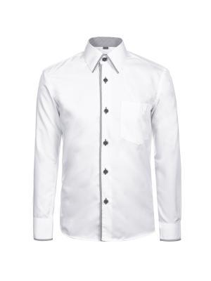 Рубашка Brostem. Цвет: серый