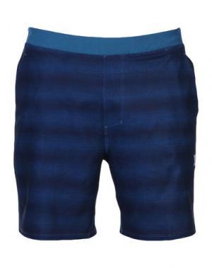 Пляжные брюки и шорты HURLEY. Цвет: цвет морской волны
