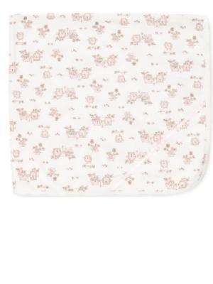 Одеяло Совенок Little Me. Цвет: розовый, белый