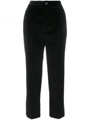 Укороченные брюки A.P.C.. Цвет: чёрный