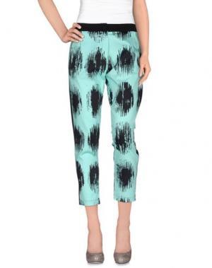 Повседневные брюки LORELLA SIGNORINO. Цвет: бирюзовый