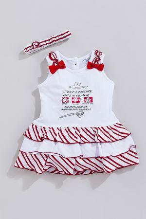 Платье MAIA BABY. Цвет: белый