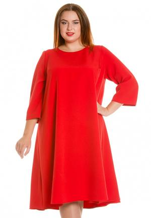 Платье Luxury Plus. Цвет: красный