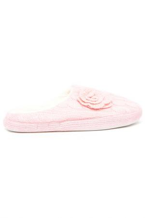 Домашние тапочки Burlesco. Цвет: розовый