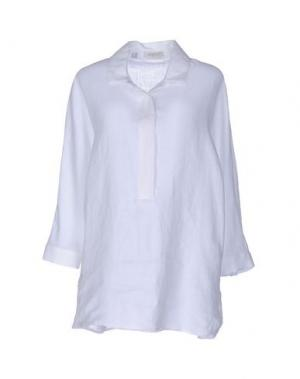 Pубашка ZANETTI 1965. Цвет: белый