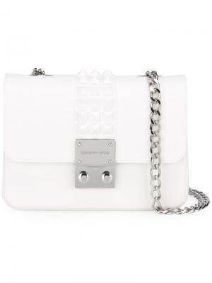 Сумка на плечо Amalfi Designinverso. Цвет: белый
