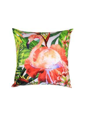 Подушка Gift'n'Home. Цвет: бледно-розовый, красный