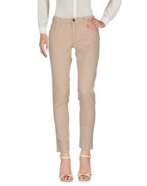 Повседневные брюки ROBERTA BIAGI. Цвет: бежевый