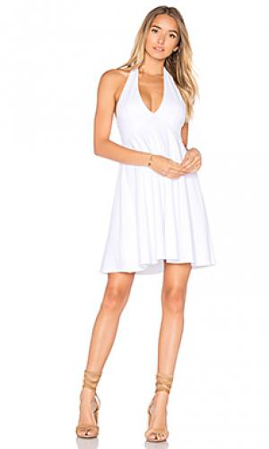 Fern 16 dress Susana Monaco. Цвет: белый