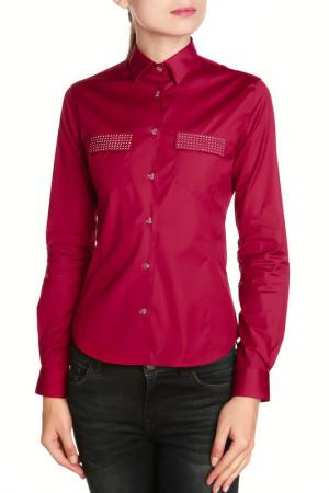 Рубашка GAZOIL. Цвет: pink