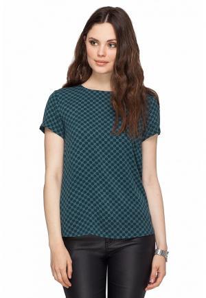 Блуза Vilatte. Цвет: зеленый