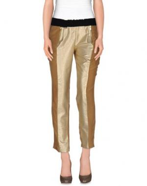 Повседневные брюки ELLA LUNA. Цвет: верблюжий