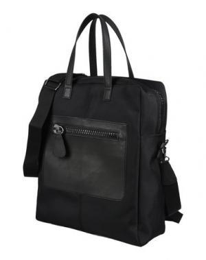 Рюкзаки и сумки на пояс BORSETTERIA NAPOLI 1985. Цвет: черный
