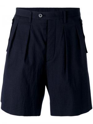 Bermuda shorts Wooyoungmi. Цвет: синий