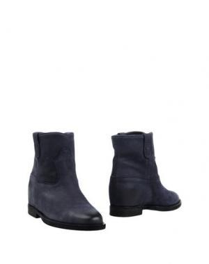 Полусапоги и высокие ботинки AIRPORT. Цвет: темно-синий