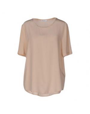 Блузка EQUIPMENT FEMME. Цвет: розовый