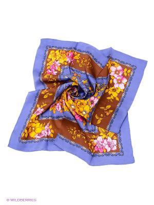 Платок Venera. Цвет: синий, коричневый