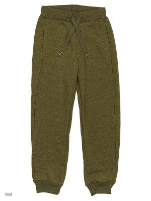 Трикотажные брюки Modis. Цвет: темно-зеленый, серый меланж