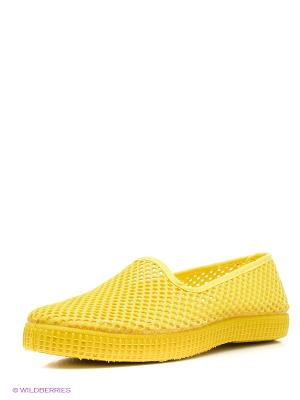 Слиперы El Tempo. Цвет: желтый