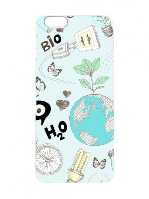 Чехол для iPhone 6 Значки Chocopony. Цвет: белый, кремовый, лазурный