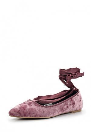 Туфли LOST INK. Цвет: розовый