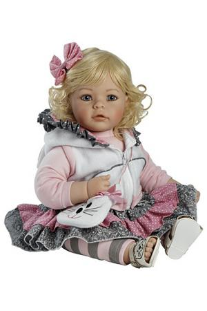 Кукла Мяу Adora inc.. Цвет: пурпурный, белый, розовый, сер