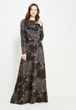 Платье Sahera Rahmani. Цвет: серый