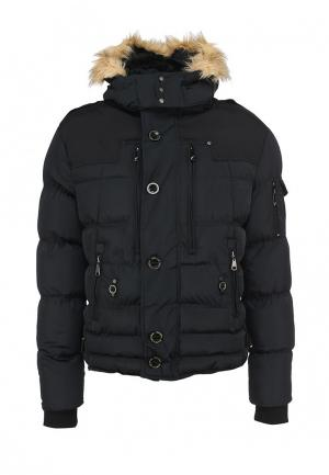 Куртка утепленная Goodyear. Цвет: черный