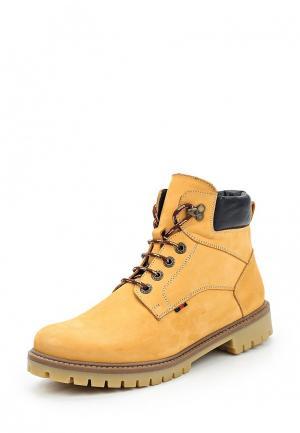 Ботинки Bekerandmiller. Цвет: оранжевый