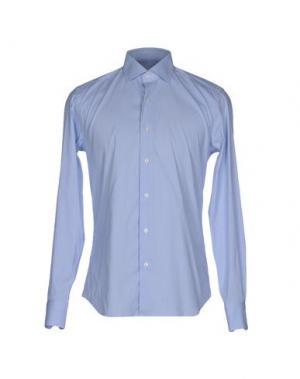 Pубашка CELLINI. Цвет: небесно-голубой