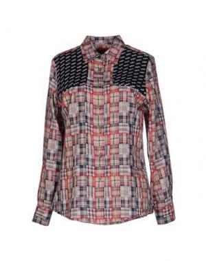Pубашка HARVEY FAIRCLOTH. Цвет: красный