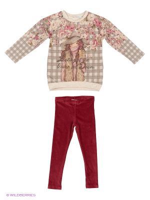 Комплект одежды Mayoral. Цвет: малиновый