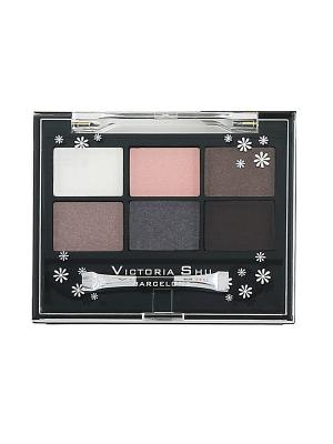 Тени для век ALL FOR EYES № 463 Victoria Shu. Цвет: коричневый