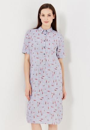 Платье Medicine. Цвет: голубой