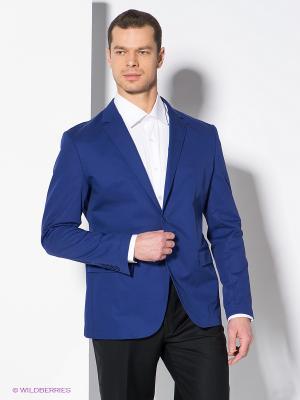 Пиджак BAZIONI. Цвет: индиго