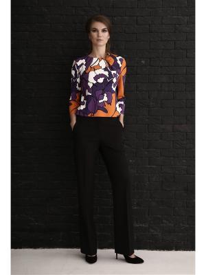 Блуза Marlen. Цвет: оранжевый, фиолетовый