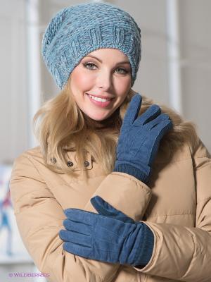 Перчатки Modo. Цвет: синий