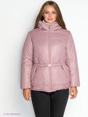 Куртка X'cluSIve. Цвет: розовый
