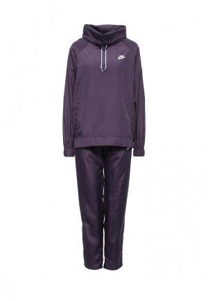 Костюм спортивный Nike. Цвет: фиолетовый