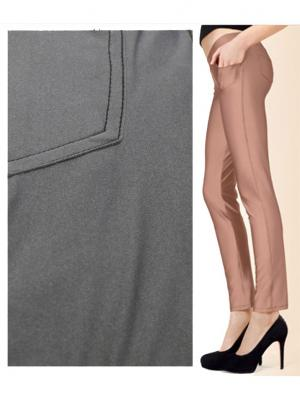 Леггинсы-брюки, модель JENIFER B22 MARILYN. Цвет: серый, черный