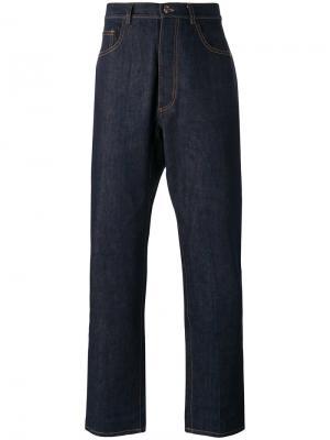Прямые джинсы Umit Benan. Цвет: синий
