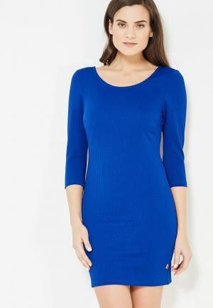 Платье Lucy & Co.. Цвет: синий