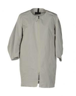 Легкое пальто AQUARAMA. Цвет: серый